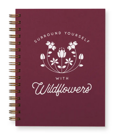 Surround Yourself With Wildflowers - Journal