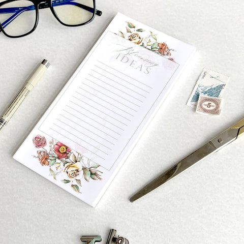 Blooming Ideas Notepad