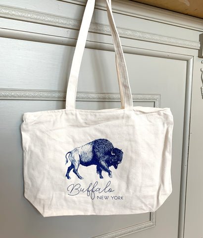Buffalo Canvas Tote