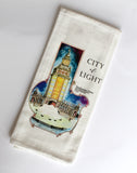 Pan Am Electric Tower Tea Towel
