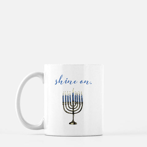 Menorah - Holiday Mug