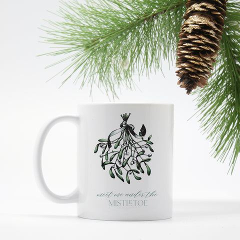 Mistletoe - Holiday Mug