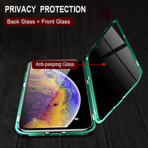 40%OFF-Last Day Promotion-iPhone&Samsung Privacy Protection Magnetic Phone Case( Double Side)-Buy Two Free Shipping