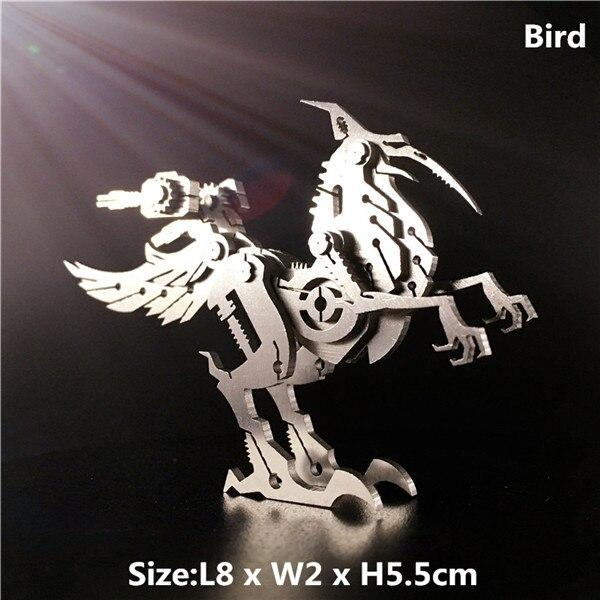 Steel Warcraft 3D Metal Puzzle