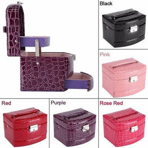 Mother's Day Promotion 3-Layer Leather Organizer Jewelry Box(Free Shipping)