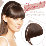 Secret Bang & Braid Headband (Buy 3 Get 1 Free)