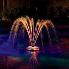 Underwater Light Show Fountain