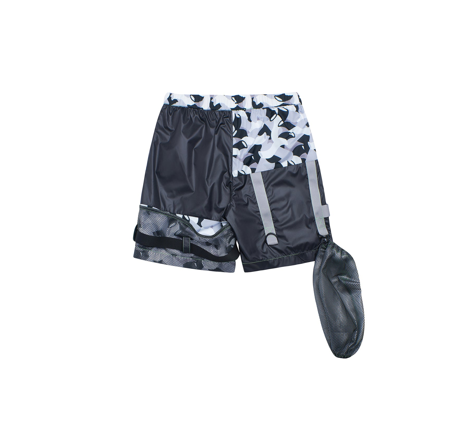 CAMOUFLAGE FOUR-POCKET SHORTS
