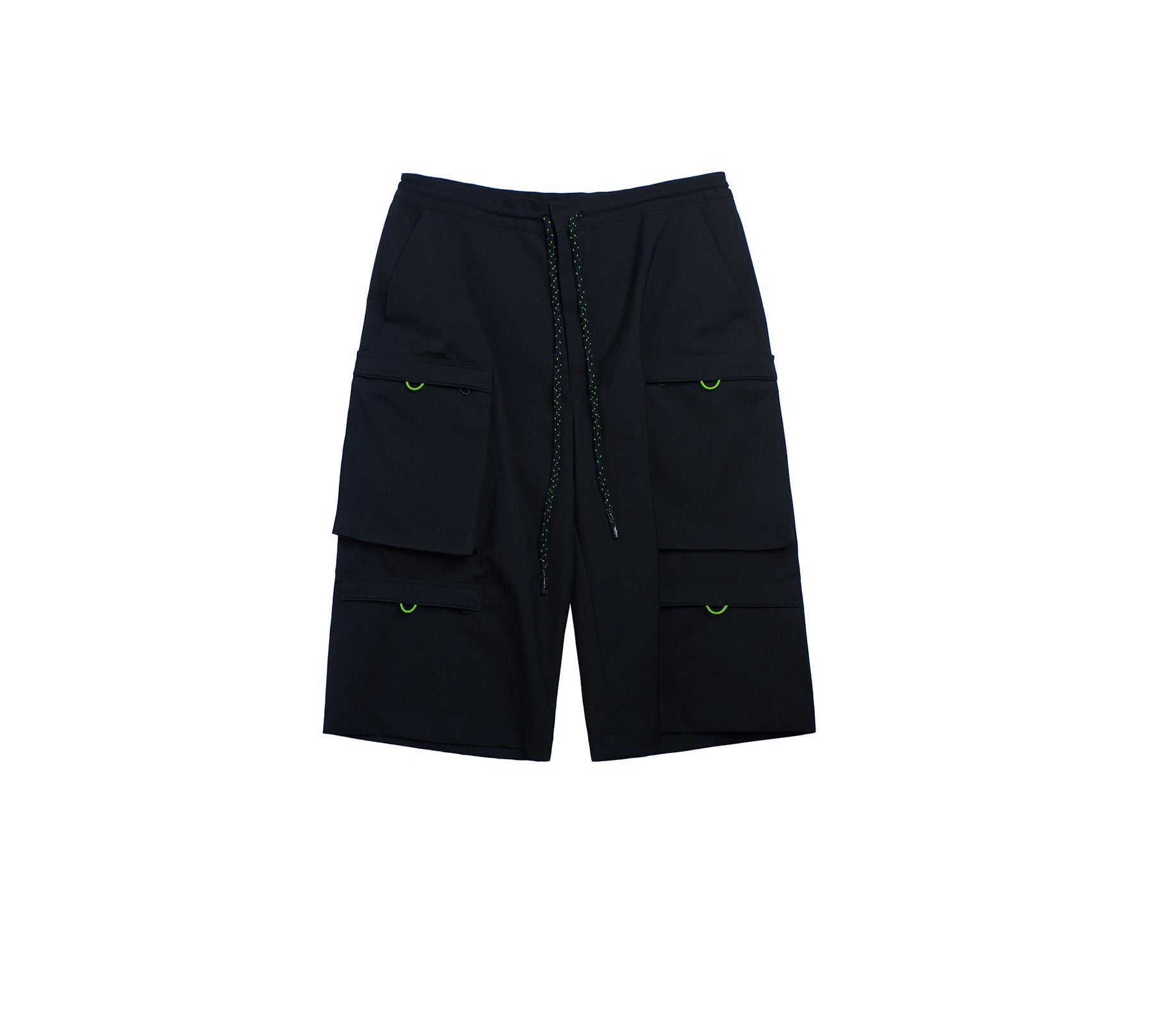FOUR-POCKETS CROPPED TROUSERS