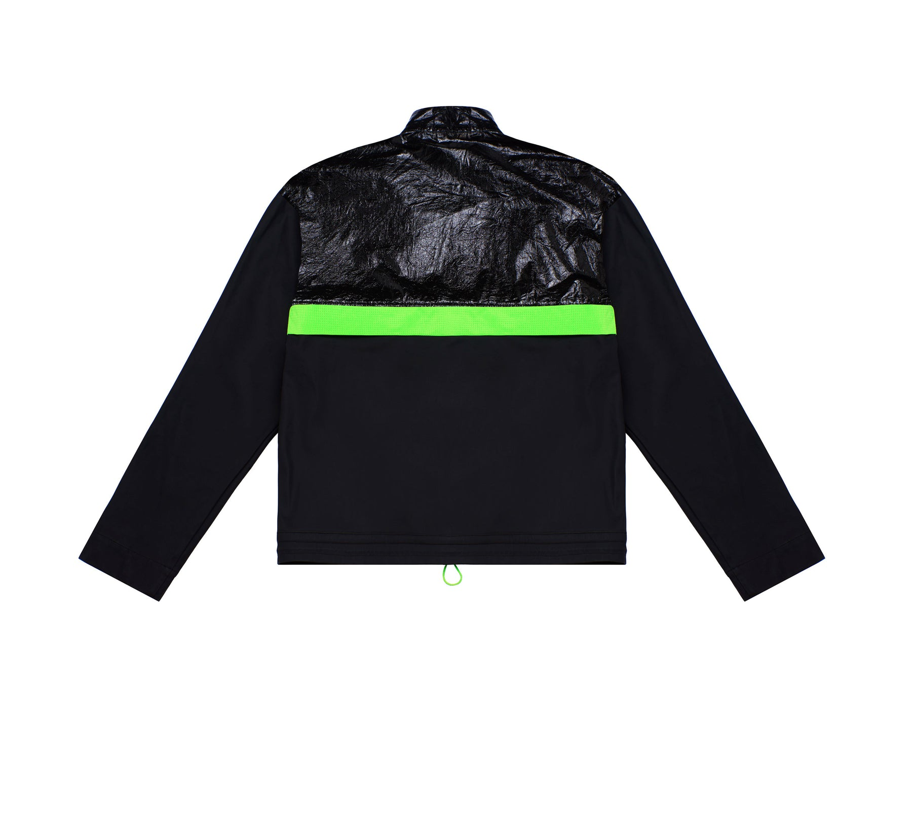 PATCHWORK WINDBREAKER JACKET