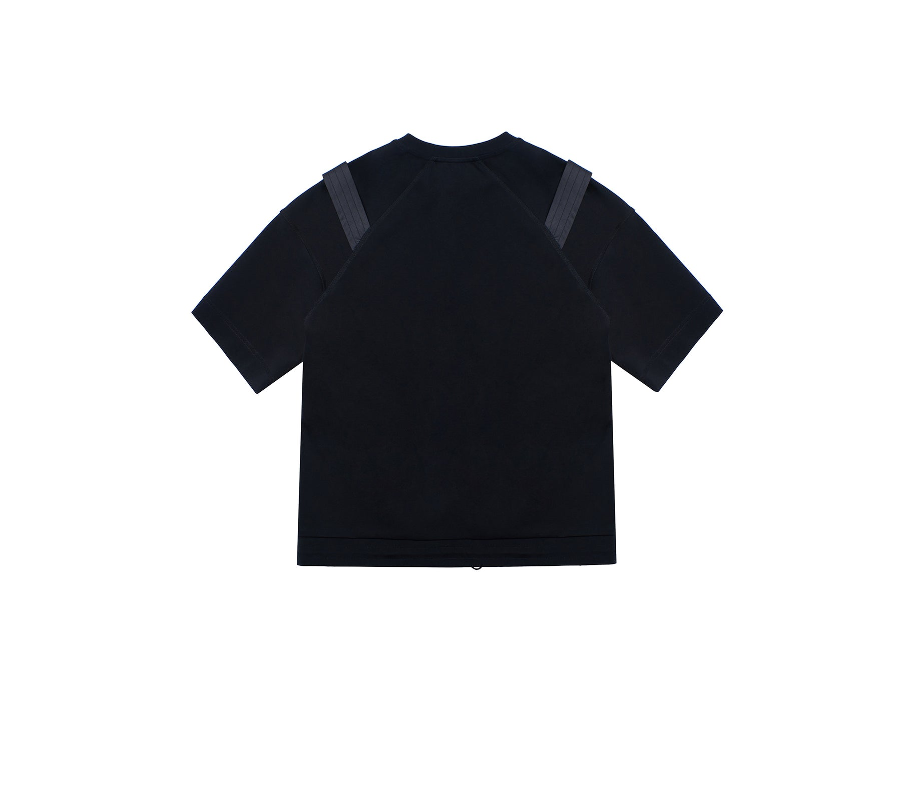 SHOULDER GIRDLE CREWNECK T-SHIRT