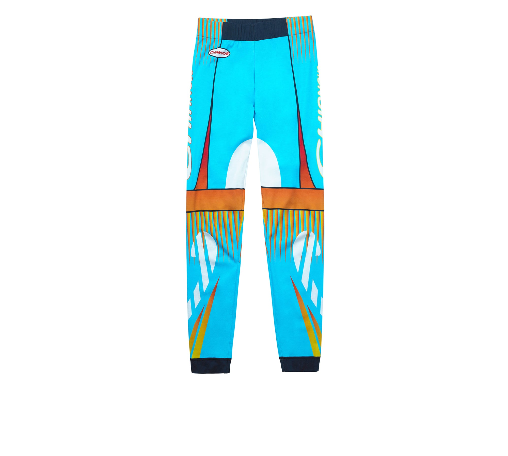 RACING PRINTED LEGGINGS