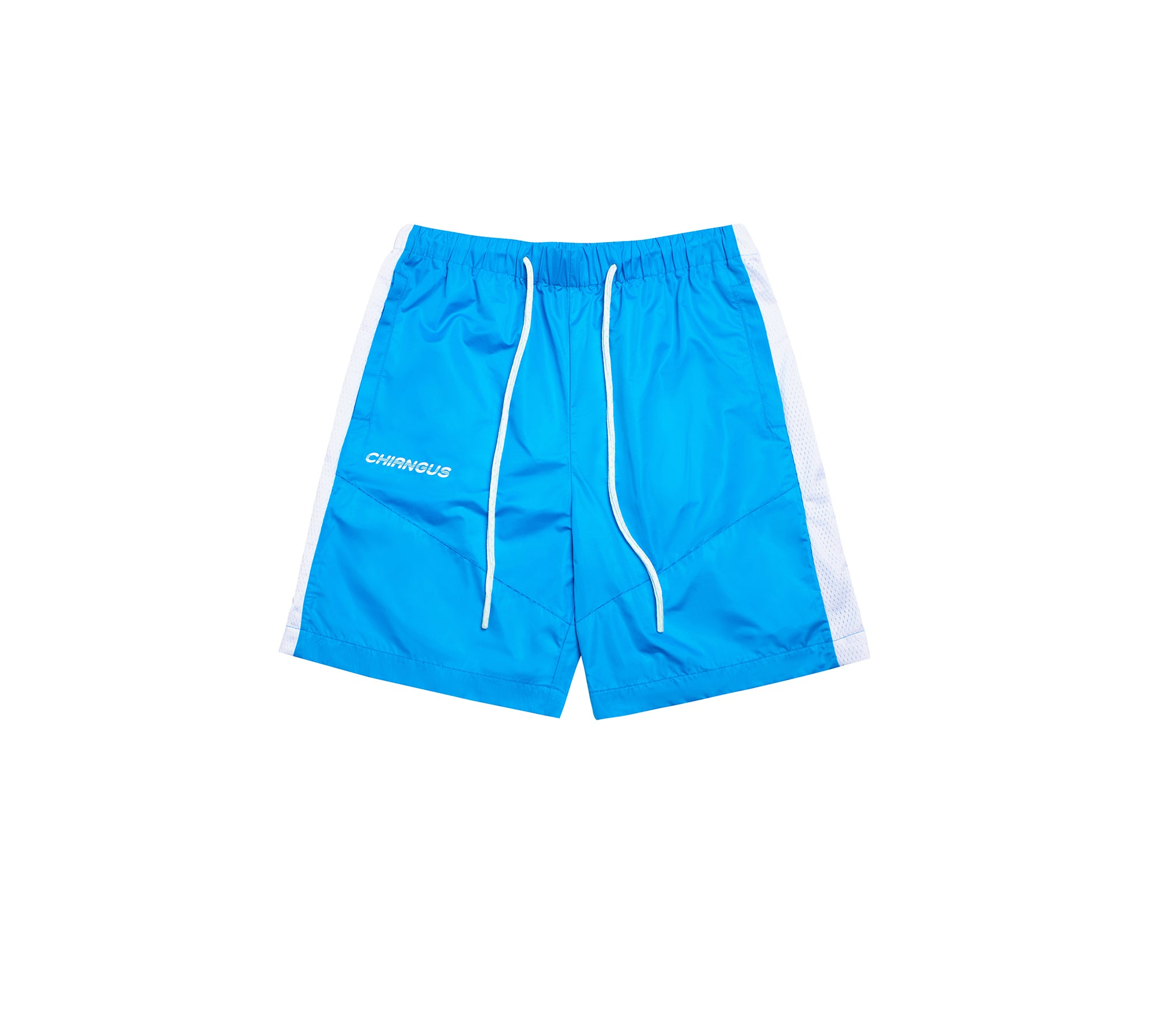 PATCHWORK SPORT SHORTS