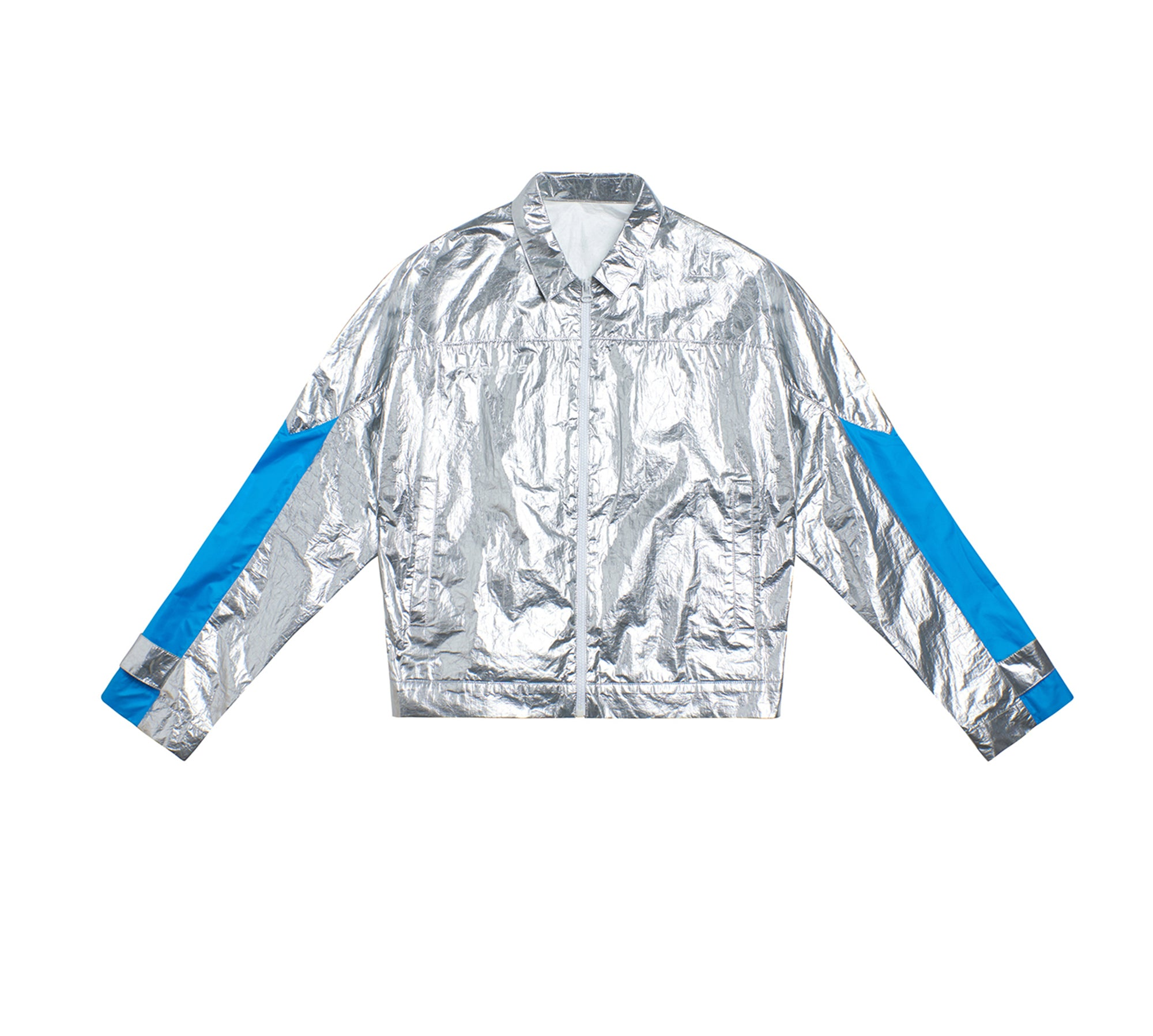 SLIVER PATCHWORK JACKET