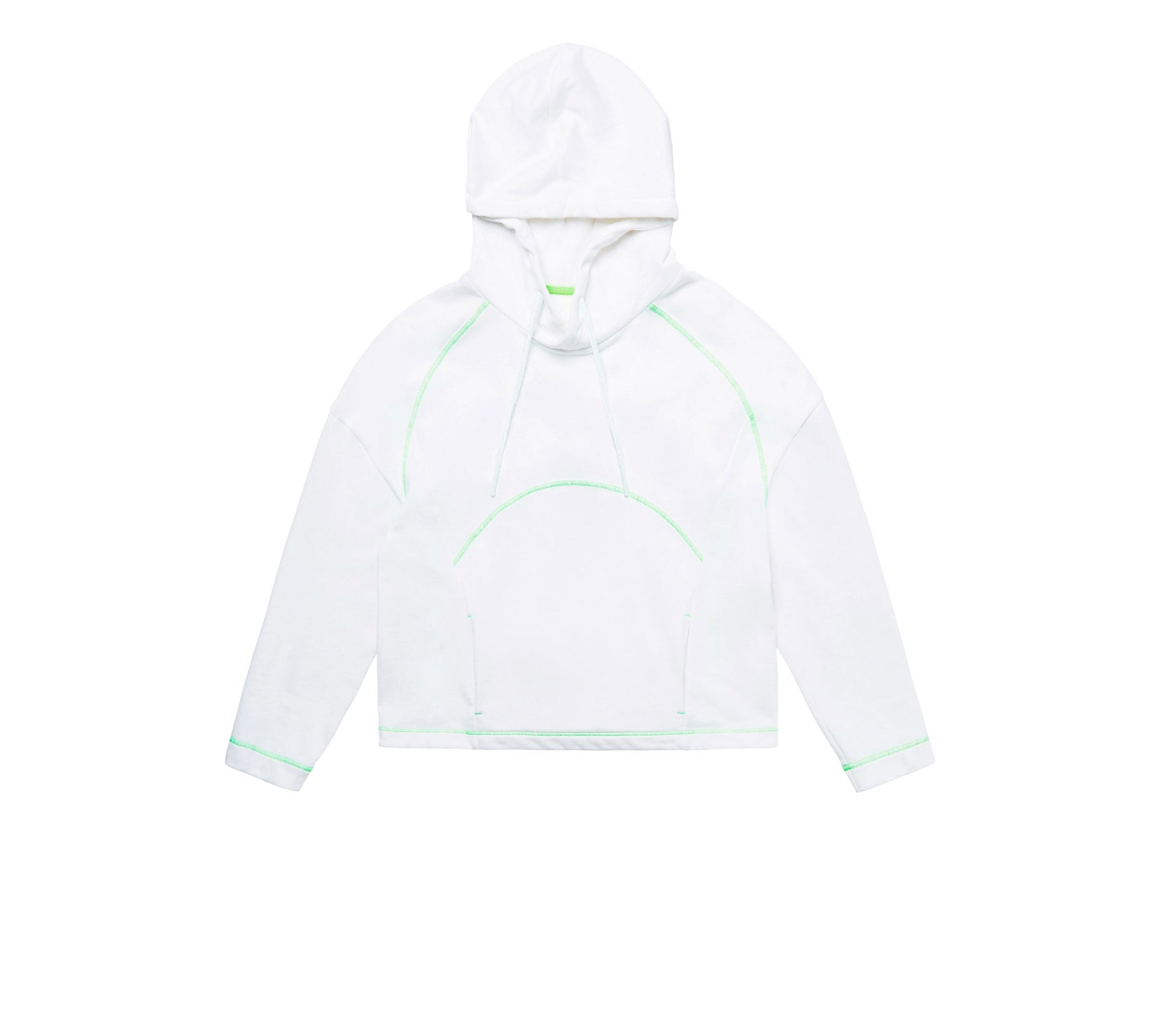 CONTRAST PIPING HOODIE