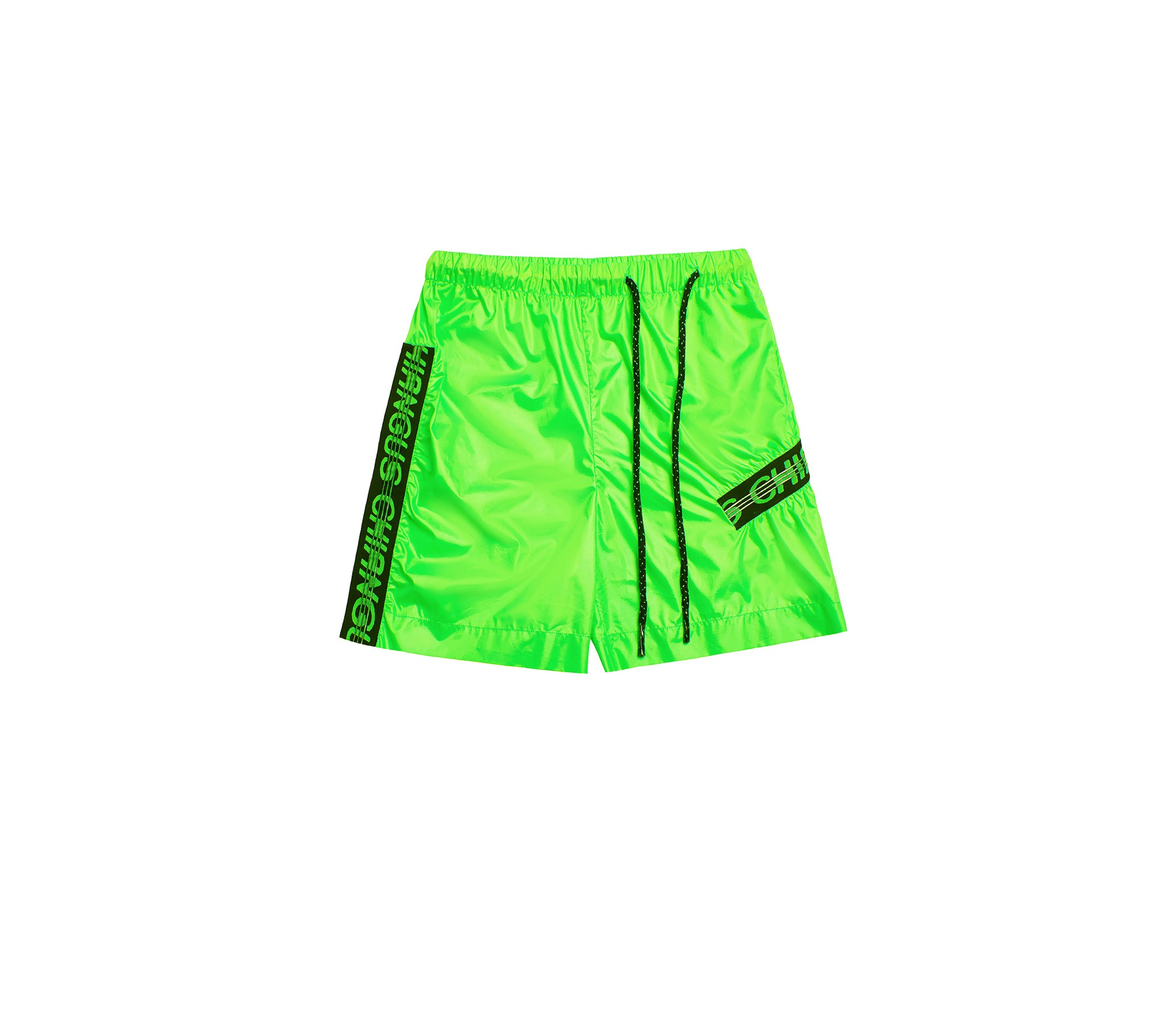 ELASTIC RIBBON CASUAL SPORTY SHORTS