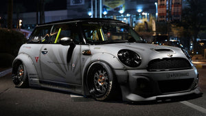 Mini Cooper Liberty Walk plus FI Exhaust