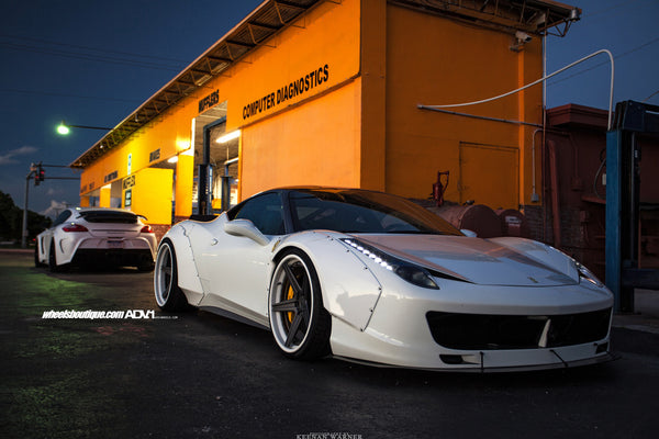 I found this Ferrari 458 Italia on eBay and it looks insane with its Liberty Walk widebody kit that was sourced from Japan.
