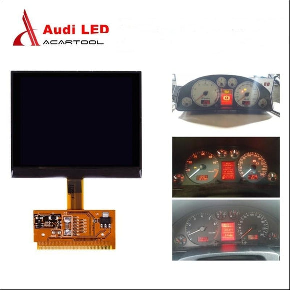 LCD Repair Gauge Cluster Display Screen for Audi A3/A4/A6 VDO & VW Golf /Passat/Seat - LCD Repair