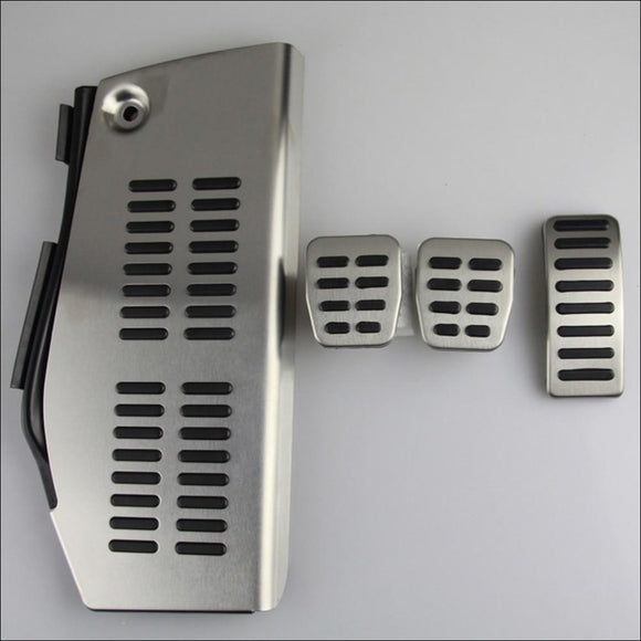 Stainless Steel Pad Foot Rest For Volkswagen Polo / Golf 4 / Bora / Beetle / Audi A3 / SEAT Leon - Pad Food