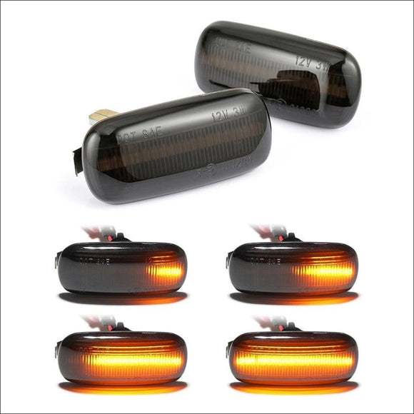 2 pieces Led Dynamic Side Turn Signal Light For Audi A3 S3 8P A4 S4 RS4 B6 B7 B8 A6 S6 RS6 C5 C7 - Dynamic Blinker Turn Signal