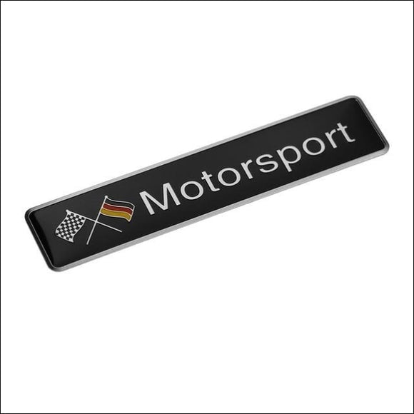 3D Stickers Aluminium for German Cars VW / Mercedes Benz / BMW / Audi - G - Stickers
