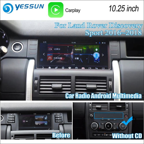 Car Multimedia Android for Land Rover Discovery Sport 2016-2018 10.25inch - Multimedia System