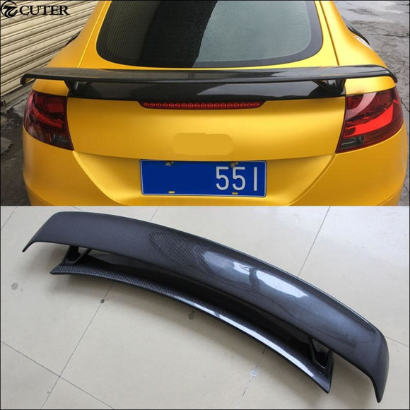 Carbon Fiber Rear Spoiler For Audi TT TTS 08-14 - Wing