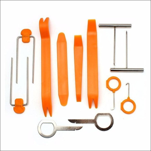 Auto Car Repair Disassembled 12pcs/Set Audio Removal - Tools