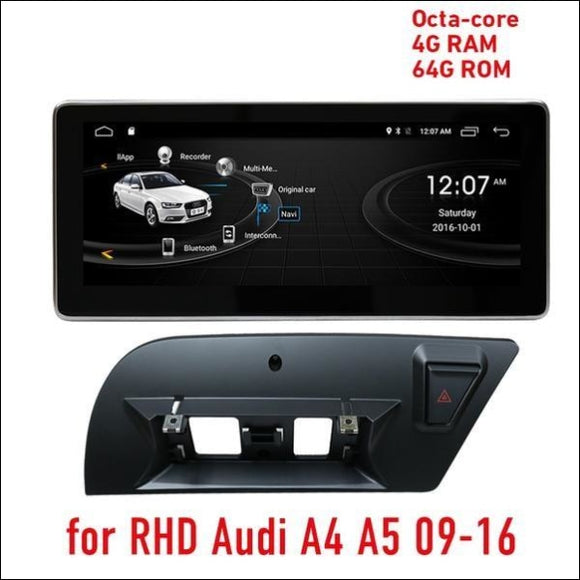 Multimedia Android 10 for RHD Audi A4 and A5 2009-2016 ( 4Gb RAM / 64Gb ROM ) Multimedia System