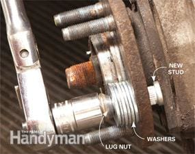 How to Replace a Broken Wheel Stud