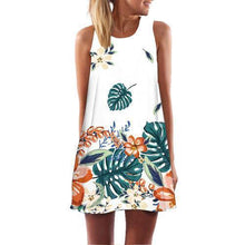 Load image into Gallery viewer, Women Dress Rose Sleeveless Summer
