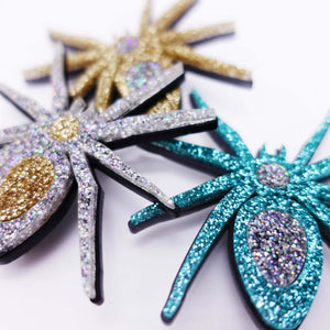 ALL HAIL Lady Hale SPIDER BROOCHES