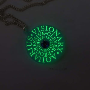ZODIAC  - star signs for strong women  – glow in the dark with Swarovski crystals!