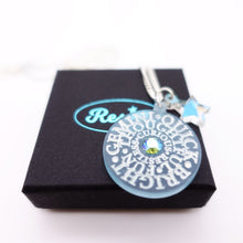 Load image into Gallery viewer, ZODIAC  - star signs for strong women  – glow in the dark with Swarovski crystals!