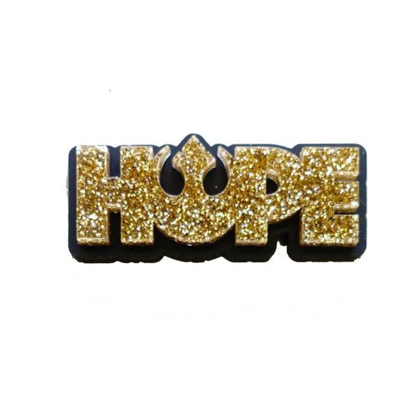 HOPE brooch – Rebel Alliance – click for more colours