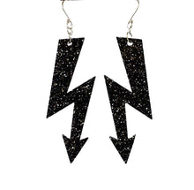 Load image into Gallery viewer, HIGH VOLTAGE large earrings (click for more colours)