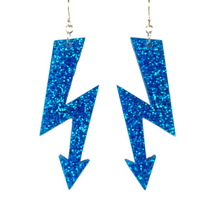 HIGH VOLTAGE large earrings (click for more colours)