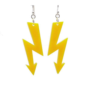 HIGH VOLTAGE medium earrings (click for more colour)