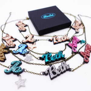 LITTLE WOMEN persisters necklace