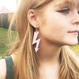 HIGH VOLTAGE super massive earrings click for more colours