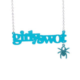GIRLY SWOT with dangling spider (click for more colours!)