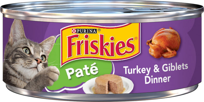 Friskies Pate Turkey & Giblets Canned Cat Food