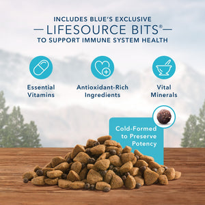Blue Buffalo Wilderness Rocky Mountain Grain Free Red Meat High Protein Recipe Large Breed Adult Dry Dog Food
