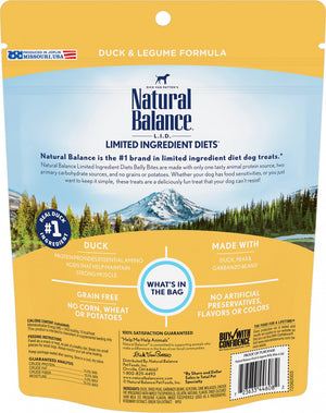 Natural Balance Belly Bites Soft Duck Treats