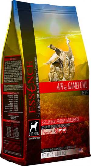 Essence Grain Free Air & Gamefowl Recipe Dry Dog Food