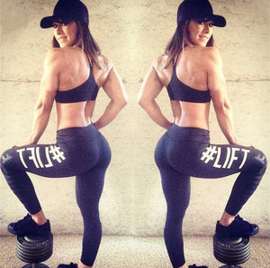 Hashtag #lift workout leggings