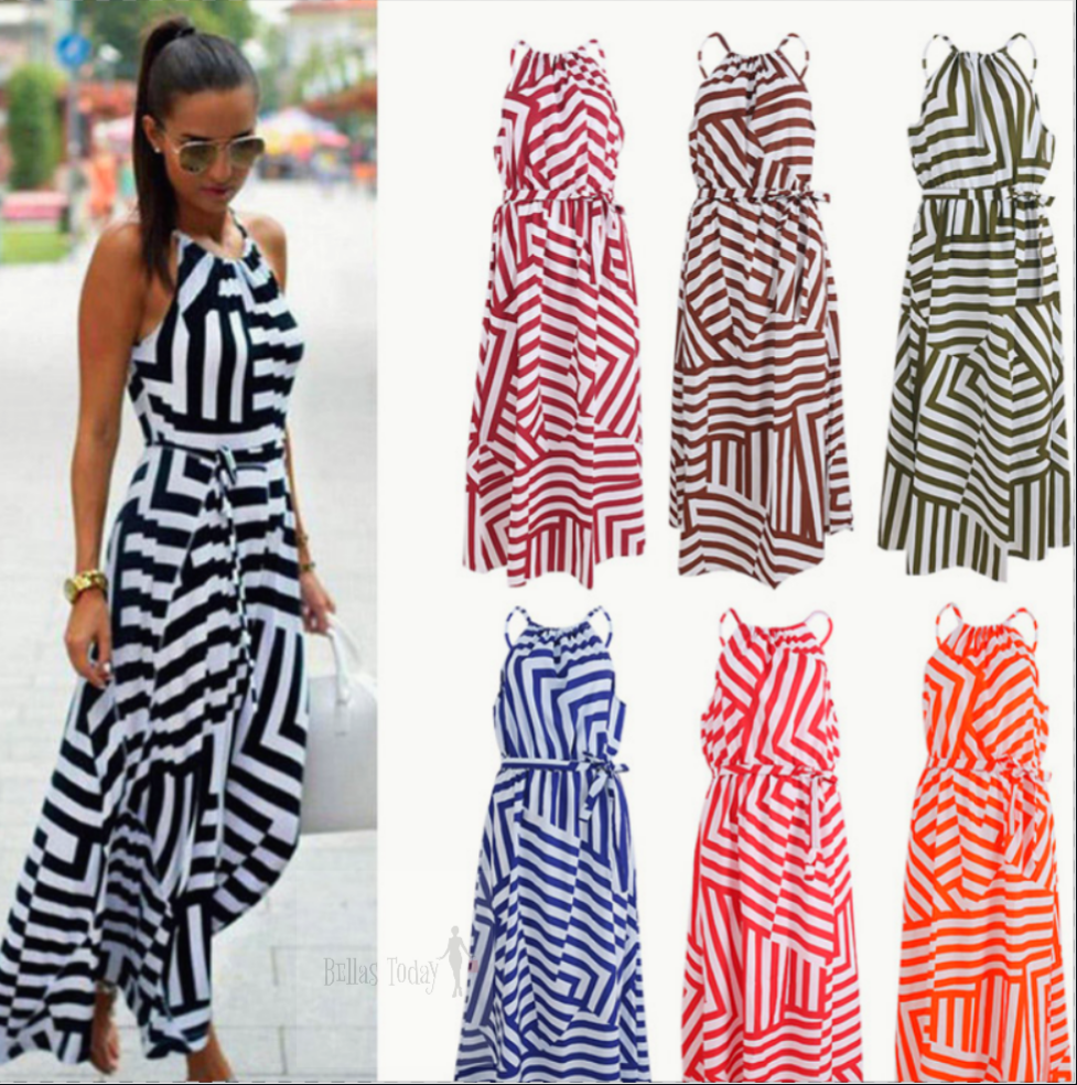 New collection! Maxi bohoo summer dress