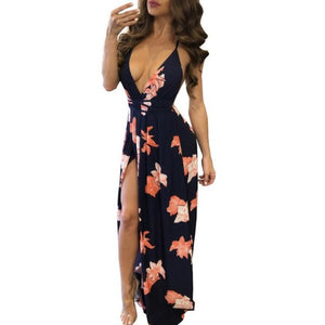 Long Sexy Beach Dress