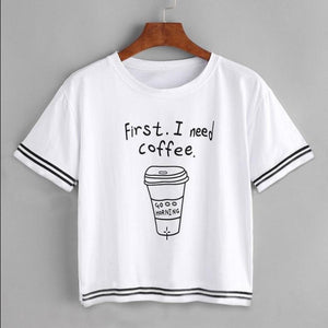Printed quotes coffee